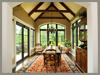 Custom Home Building - Dining